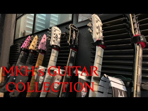 Matthew Kiichichaos Heafy I Trivium I Guitar Collection