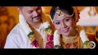 Malaysian Indian Wedding Highlights of Jay THR Raaga & Koky Vaani  By Golden Dreams Gdu