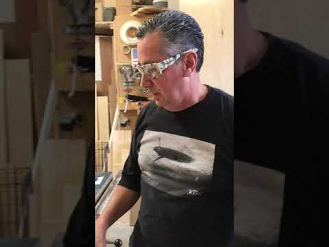 How to cut wood wine lattice on a table saw without destroying it.