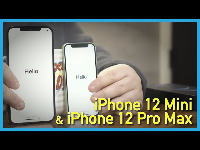 The iPhone 12 Mini and iPhone 12 Pro Max Unboxing and Hands on!