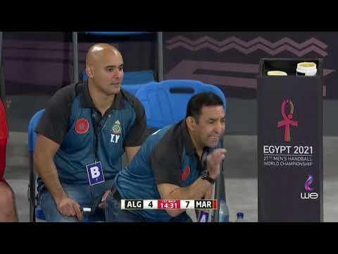 بث مباشر لمباراة الجزائر والمغرب في كأس العالم لكرة اليد 2021