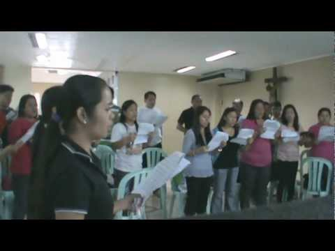 The Prayer Choral - practice - El Shaddai Gospel Music Ministry w/ youth Gospel Choir