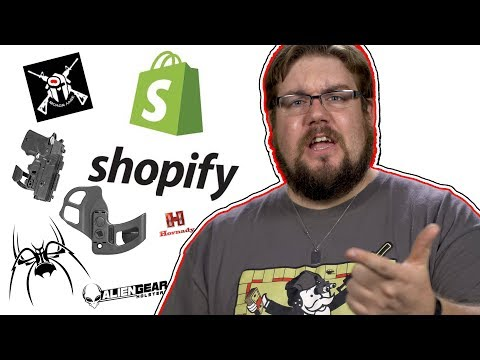Shopify Chokes Gun Industry, Alien Gear Shape Shift Pocket, Bump Stock Competition? - TGC News!