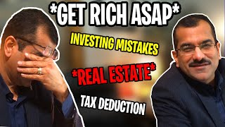 How to Get Rich by Investing in 401K, Real Estate, & by Saving Taxes $$ | Deepak (Dave) Malhotra