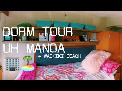 UH MANOA DORM TOUR + EXPLORING WAIKIKI BEACH