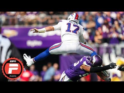 Josh Allen: The story of the Bills QB's breakout Week 3 performance vs. the Vikings | ESPN Photos
