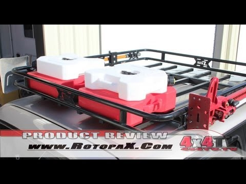 4x4tv Product Review Rotopax Fuel Pack Install On Toyota