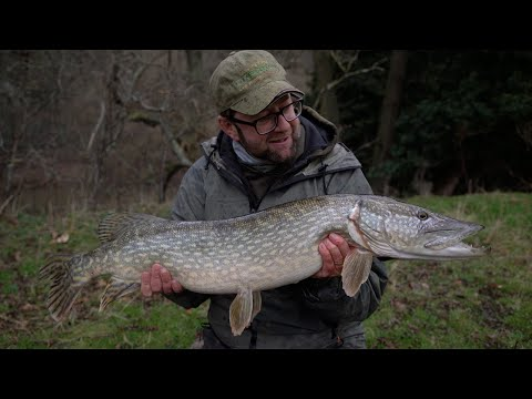 Post-flood Pike Fishing | Martin Bowler | River Wye