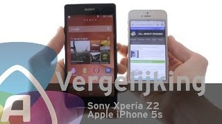 sony xperia z2 vs apple iphone 5s review dutch