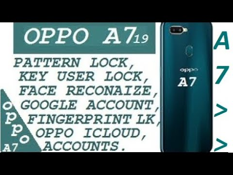 OPPO A7 (2019) RECOVERY MODE / ONLINE CONNECT WIFI / WIPE DATA RESTORE ALL