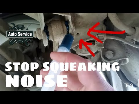 Car repair tips for your car  Stop squeaky noise  bushings on your car