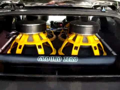 ground zero gzpw18spl subwoofers youtube. Black Bedroom Furniture Sets. Home Design Ideas