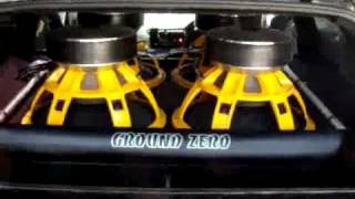 Ground Zero GZPW18SPL Subwoofers