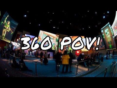 [HD] 360 Degrees* Disney Animation Building California Adventure Full Show 1080p