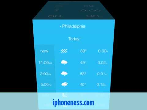 Weathercube for iPhone & iPad Review
