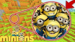 Minecraft : WE FOUND MINION SECRET BASE !(Ps3/Xbox360/PS4/XboxOne/PE/MCPE)