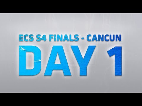 ECS CS:GO S4 Finals Day 1: Group A / Group B