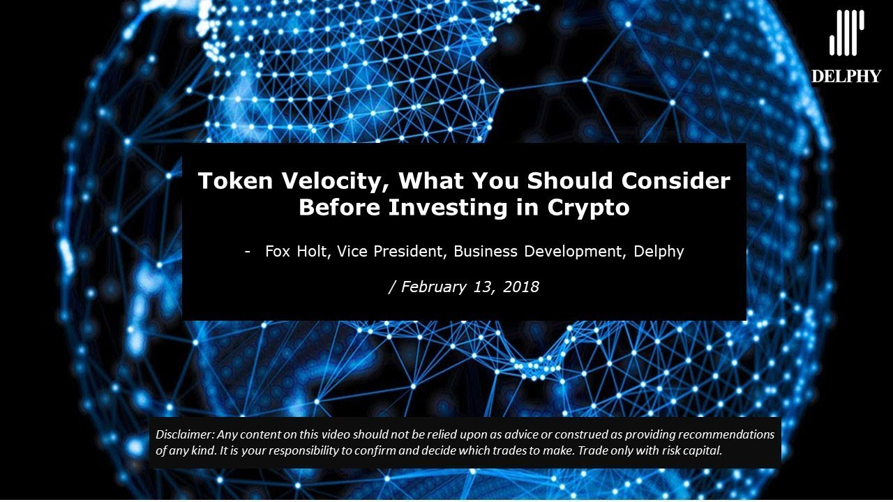 Token Velocity, What You Should Consider Before Investing in Crypto