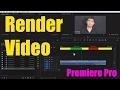 #EP-32 Render Video in Adobe Premiere Pro [HINDI]