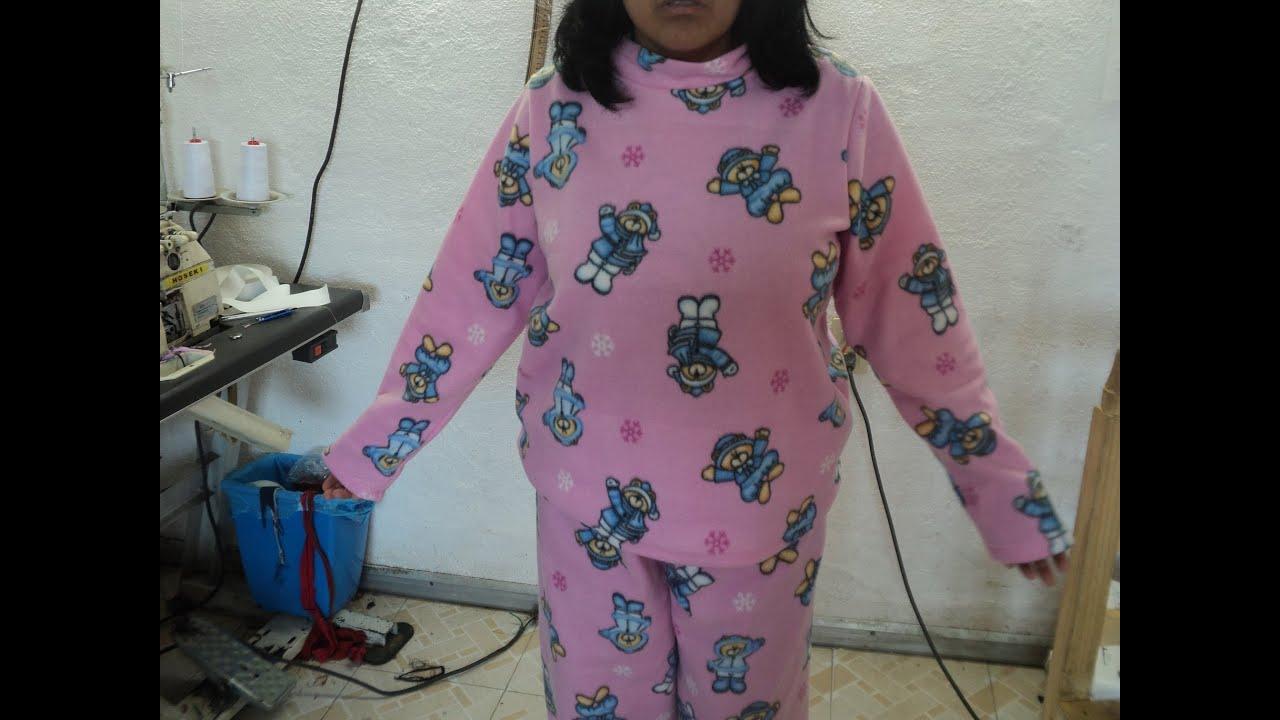 09afc4b724 Como hacer una pijama para mujer  Saco - YouTube