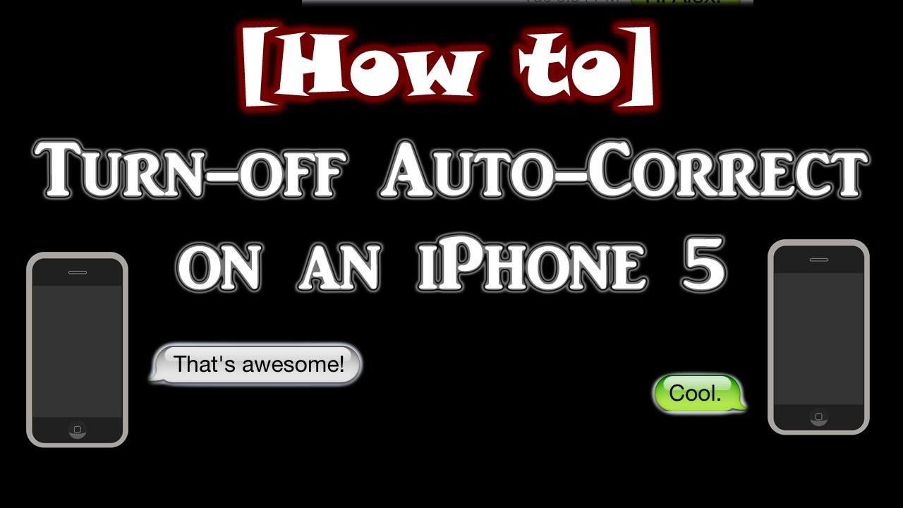 how to stop autocorrect on iphone how to turn auto correct on an iphone 4s 5 4572