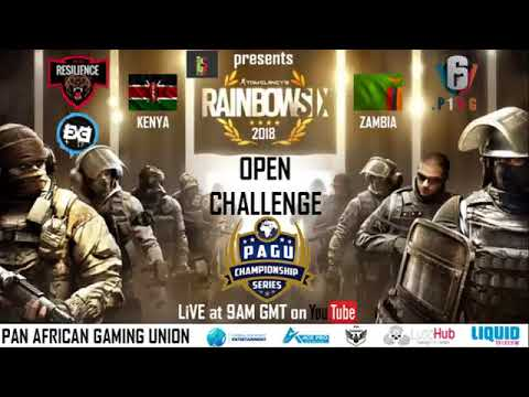 PAGU Open Challenge 2018  Rainbow Six Siege ZAMBIA Vs KENYA
