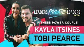 How to become a Power Couple with Kayla Itsines & Tobi Pearc . . .