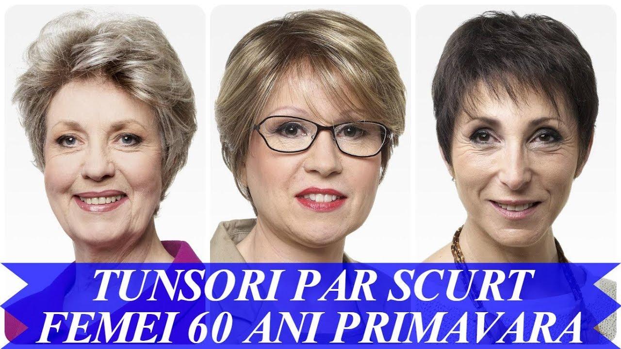 Modele De Tunsori Par Scurt Femei 60 Ani Primavara 2018 Youtube