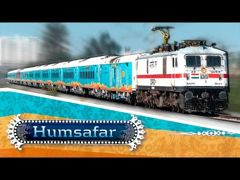 Thumbnail: Brand New Train HUMSAFAR Express : Indian Railways