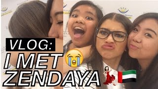 VLOG: Meeting Zendaya Coleman in Dubai!