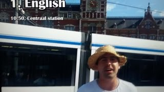 Polyglot speaking 20 languages in amsterdam