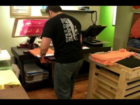 "How To Frame A Shirt >> DIY Screen Printing Press - Flash ""Conveyor"" Dryer in ..."