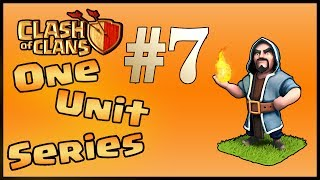 Clash of Clans - 56 Wizards Attack! [One Unit Series #7]
