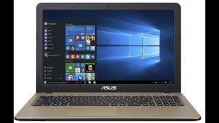 ASUS Laptop X540UB Unboxing Teszt vélemények.