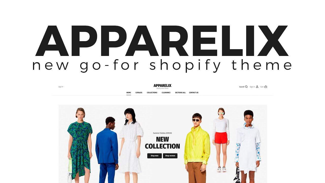 Apparelix Shopify Theme - Multipurpose eCommerce Solution