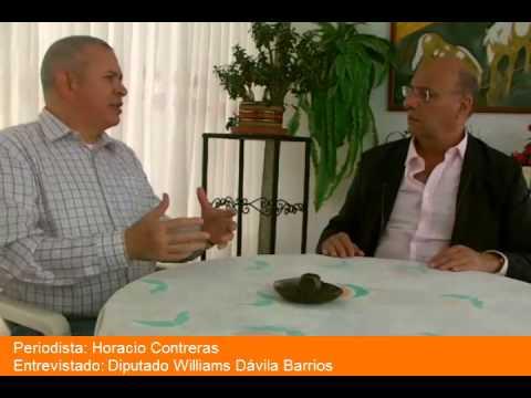 Entrevista con el Diputado Williams Dávila Barrios