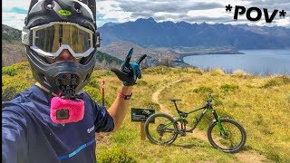 Stoked is an understatement, these trails are proper insane and i'm...