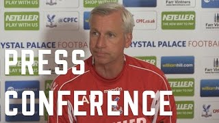 Alan Pardew's pre-Sunderland Press Conference