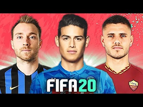 NAPOLI SCATENATO: JAMES & LUKAKU! 🔥 TOP 10 TRASFERIMENTI FIFA 20 - ESTATE 2019 | Cancelo, Eriksen