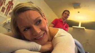Heidi Sohlberg ja LPG-hoitolaite kipeille lihaksille