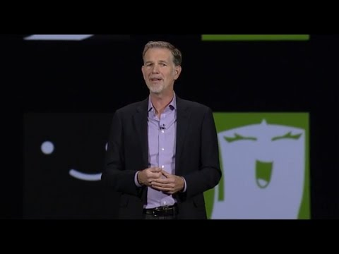 Reed Hastings, Netflix - Keynote 2016