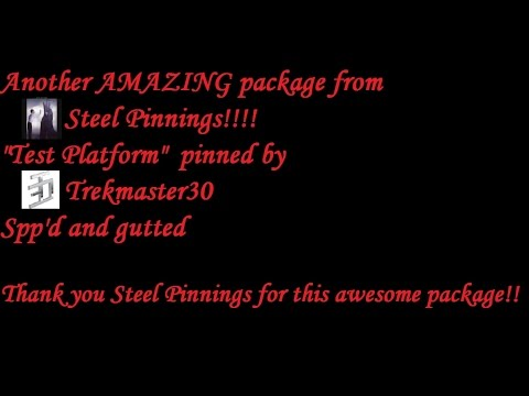 "(366) AMAZING package from Steel Pinnings ""Test Platform"" pinned by Trekmaster30 Spp'd and gutted"