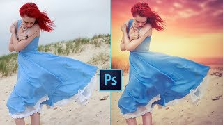 Changing Background and Soft Light Effect: Photoshop Manipulation Tutorial
