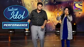 'Aaj Rapat Jaye Toh' पे Sayli और Ashish ने दिया Entertaining Performance | Indian Idol Season 12