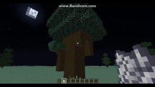 Minecraft Koyu Meşe Ağacı Büyütme çok kolay