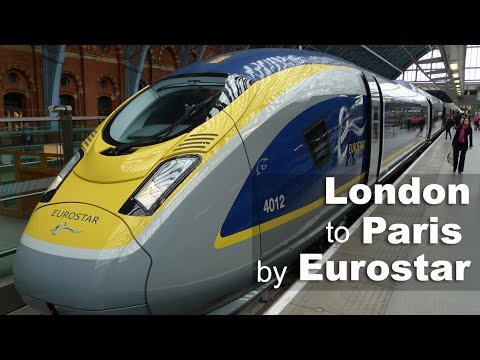 London To Paris By Eurostar E320
