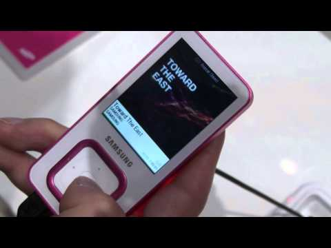 IFA 2010:Introducing YP-Q3 new Samsung MP3 player