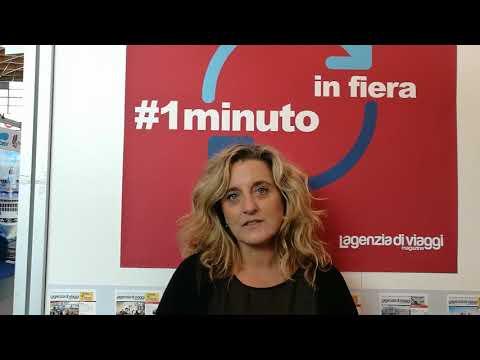 #1MINUTOINFIERA con Valentina Quattro, portavoce per l'Italia di Tripadvisor