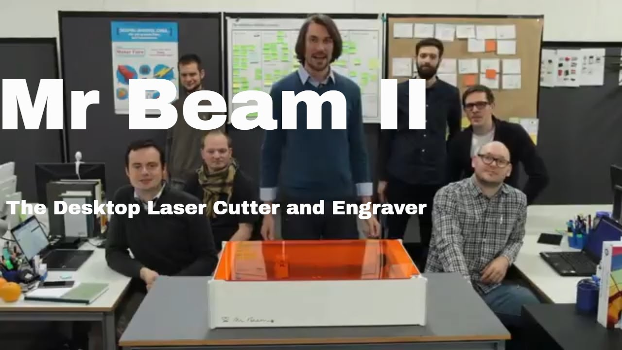 Mr Beam Ii The Desktop Laser Cutter And Engraver Youtube