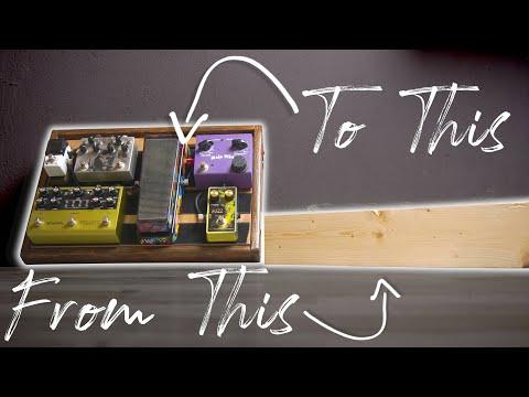 DIY Wooden Pedalboard Build